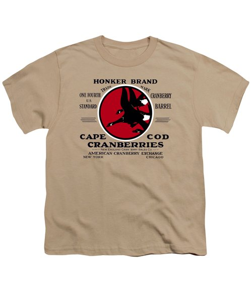 1900 Honker Cranberries Youth T-Shirt by Historic Image