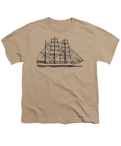 Bark Ship Youth T-Shirt