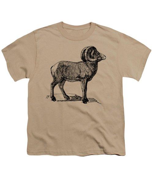 Bighorn Sheep  Youth T-Shirt