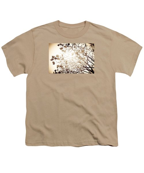 Youth T-Shirt featuring the photograph Blinding Sun by Lora Lee Chapman