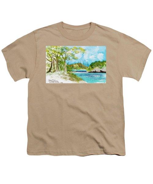 Bugny Trees At Kanumera Bay, Ile Des Pins Youth T-Shirt