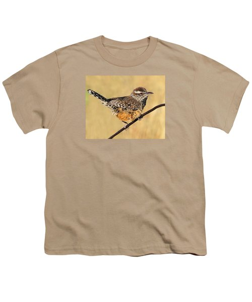 Cactus Wren Youth T-Shirt