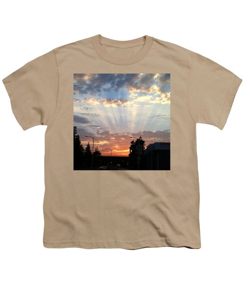 #california #sunset #nature Youth T-Shirt by Jennifer Beaudet