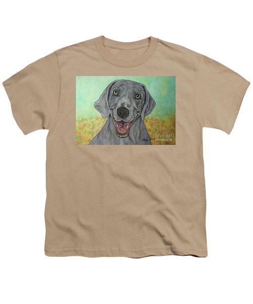 Camden The Weimaraner Youth T-Shirt