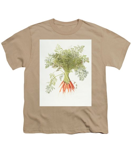 Carrots Youth T-Shirt by Margaret Ann Eden