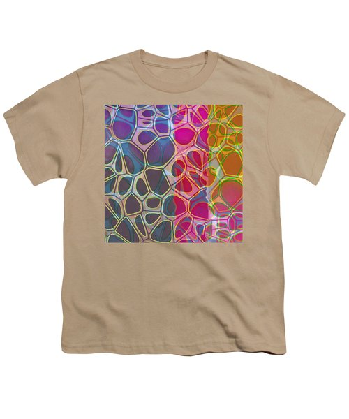 Cell Abstract 11 Youth T-Shirt by Edward Fielding