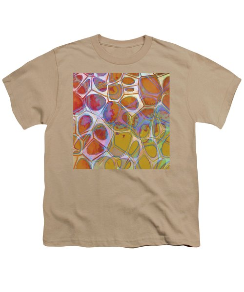 Cell Abstract 14 Youth T-Shirt by Edward Fielding