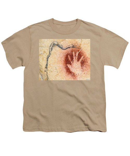 Chauvet Red Hand And Mammoth Youth T-Shirt