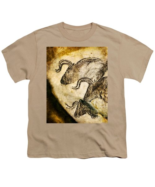 Chauvet - Three Aurochs Youth T-Shirt