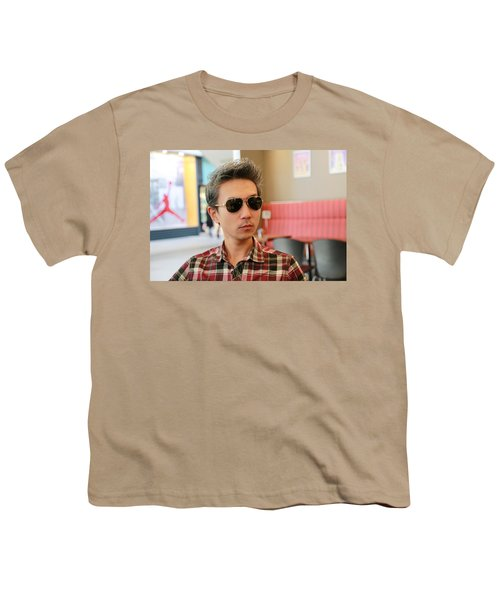 Checked Youth T-Shirt
