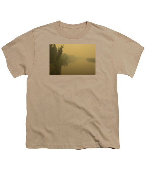 Youth T-Shirt featuring the photograph Chena River by Gary Lengyel