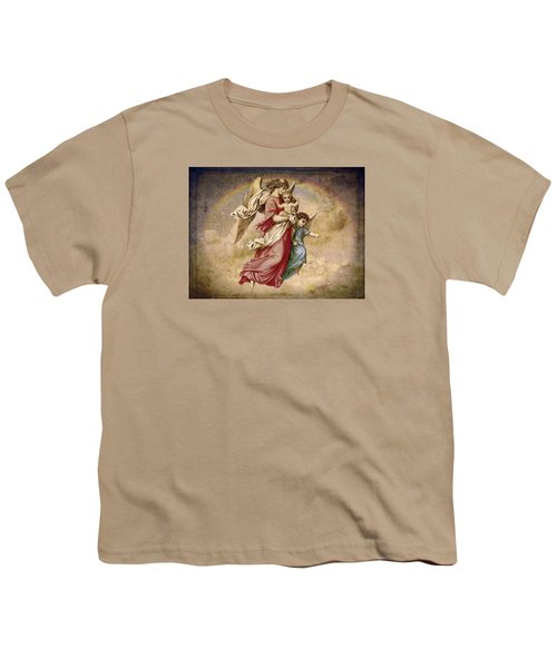 Christmas Angels And Baby Youth T-Shirt