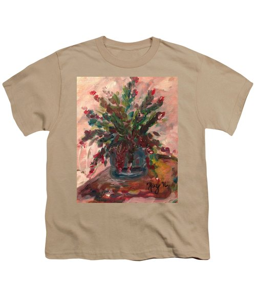 Christmas Cactus Youth T-Shirt