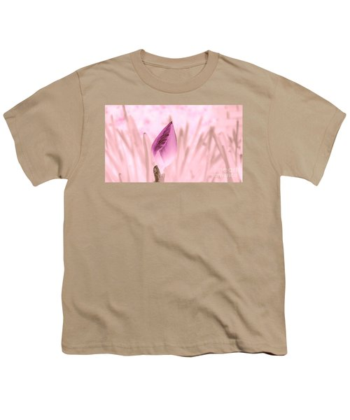 Color Trend Flower Bud Youth T-Shirt