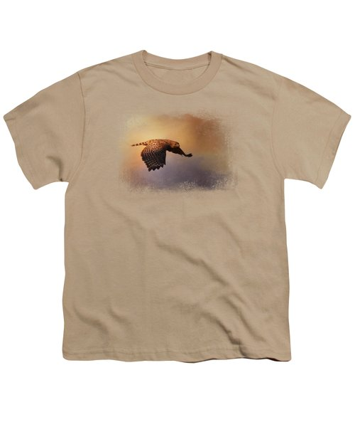 Coming In For The Evening Youth T-Shirt by Jai Johnson