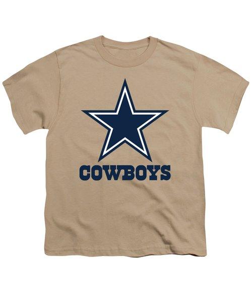 Dallas Cowboys Translucent Steel Youth T-Shirt