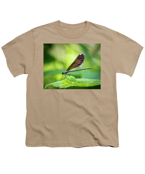 Youth T-Shirt featuring the photograph Dark Damsel by Bill Pevlor