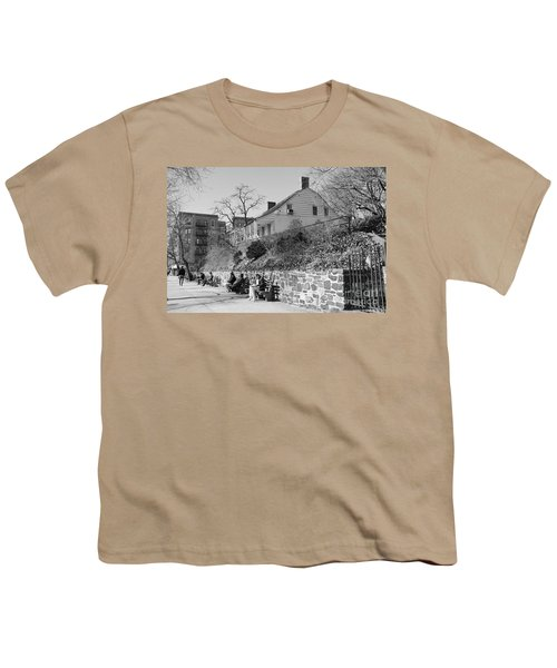 Dyckman Farmhouse  Youth T-Shirt by Cole Thompson