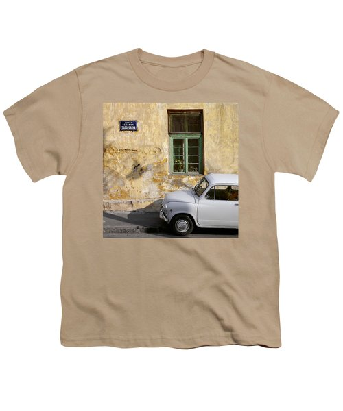 Fiat 600. Belgrade. Serbia Youth T-Shirt