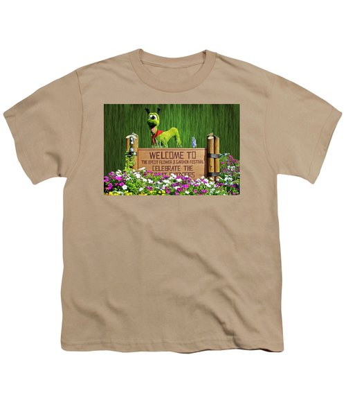 Garden Festival Mp Youth T-Shirt by Thomas Woolworth