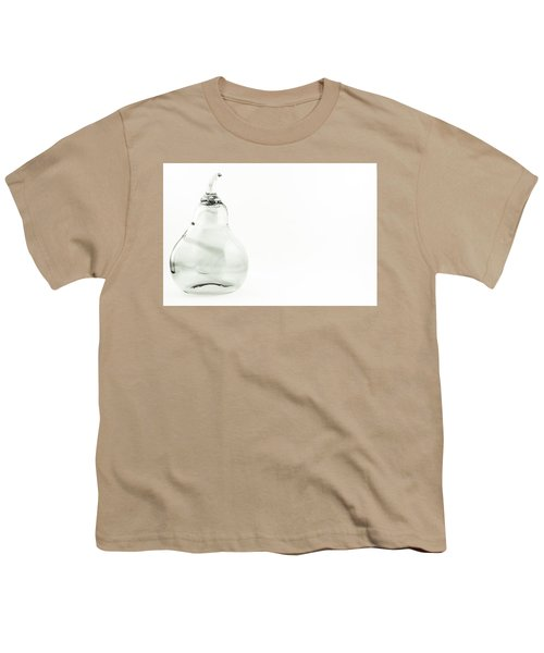 Glass Pear In Black And White Youth T-Shirt