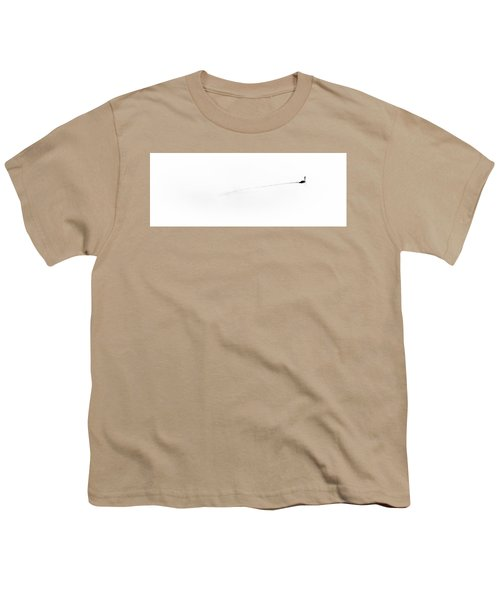 Goose On The Pond Youth T-Shirt by David Patterson