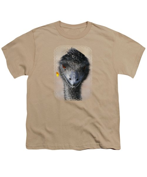 Happy Emu Youth T-Shirt by Ivana Westin
