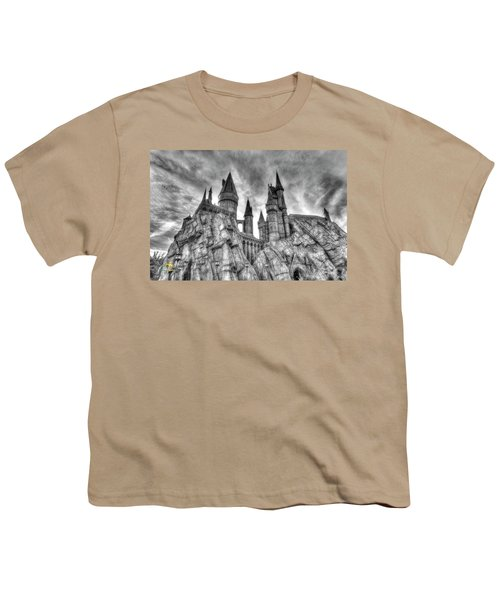 Youth T-Shirt featuring the photograph Hogwarts Castle 1 by Jim Thompson