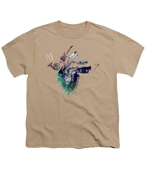 I Love Music - Music My Love Youth T-Shirt