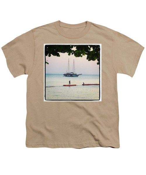 Youth T-Shirt featuring the photograph Idyllic Setting To Idle The Time Away by Mr Photojimsf
