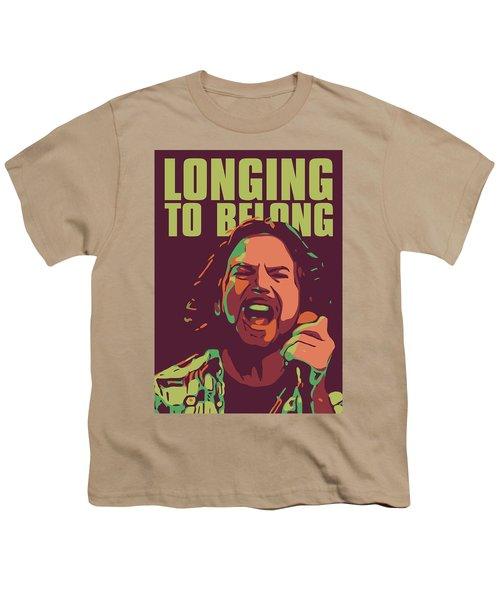 Eddie Vedder Youth T-Shirt by Greatom London