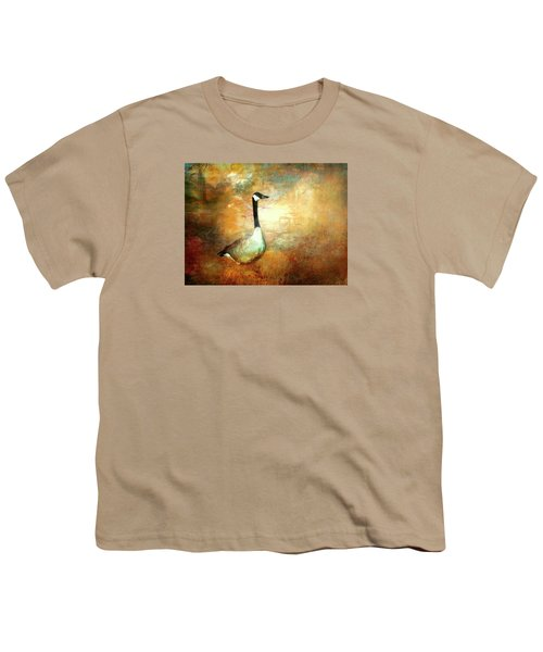 In A Quiet Place Youth T-Shirt by Bellesouth Studio