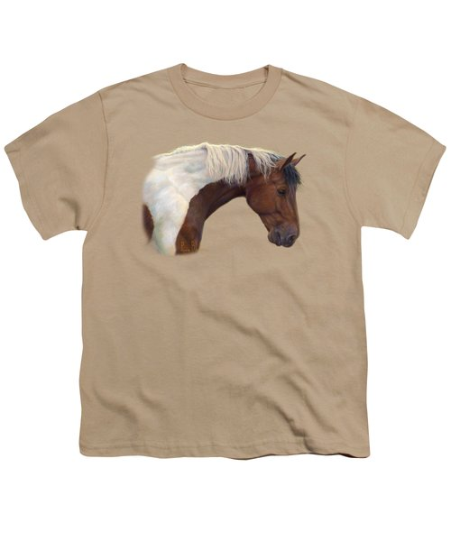 Intrigued Youth T-Shirt by Lucie Bilodeau