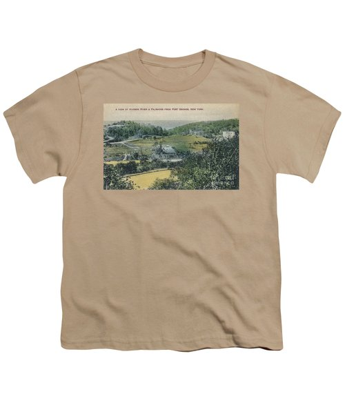 Inwood Postcard Youth T-Shirt by Cole Thompson