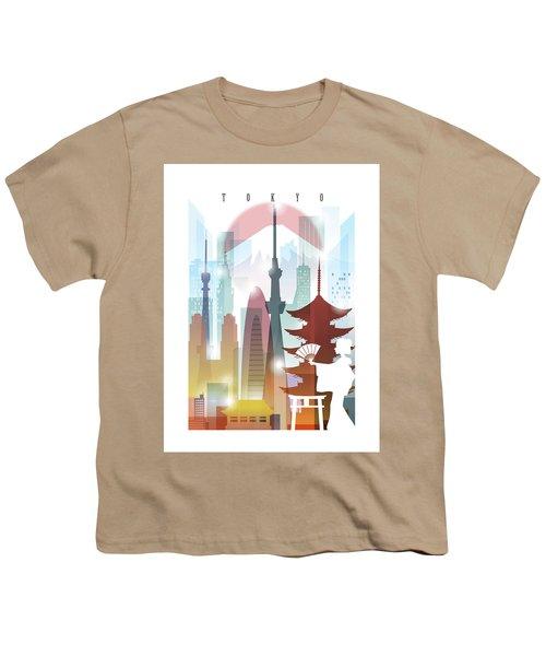 Japan Tokyo 2 Youth T-Shirt