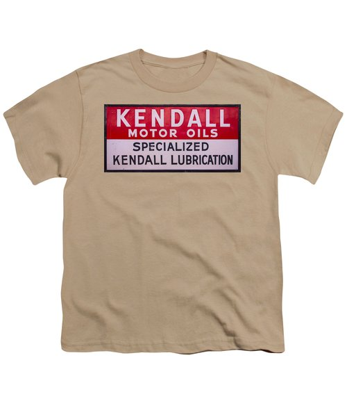 Kendall Motor Oils Sign Youth T-Shirt