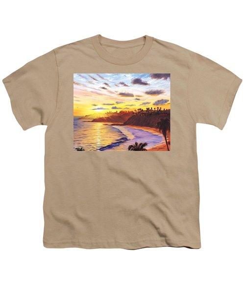 Laguna Village Sunset Youth T-Shirt