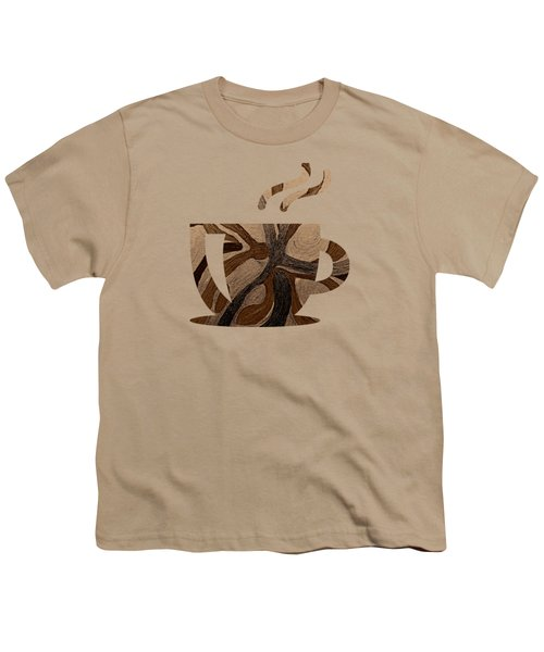 Mocha Java Swirl Youth T-Shirt