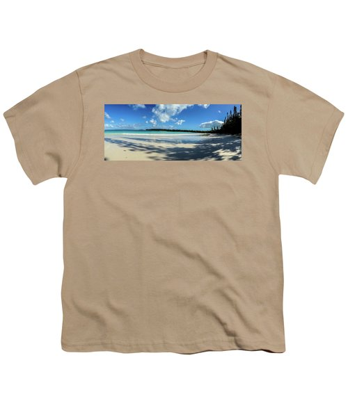 Morning Shadows Ile Des Pins Youth T-Shirt