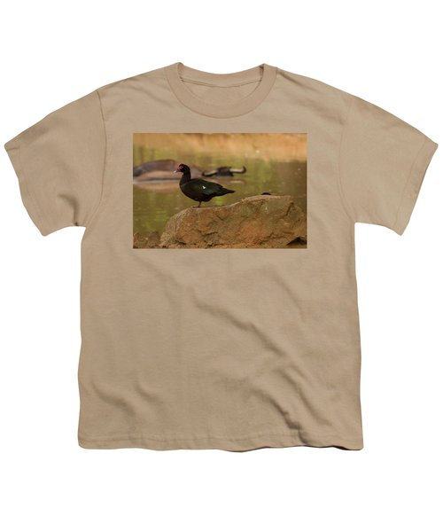 Muscovy Duck Youth T-Shirt