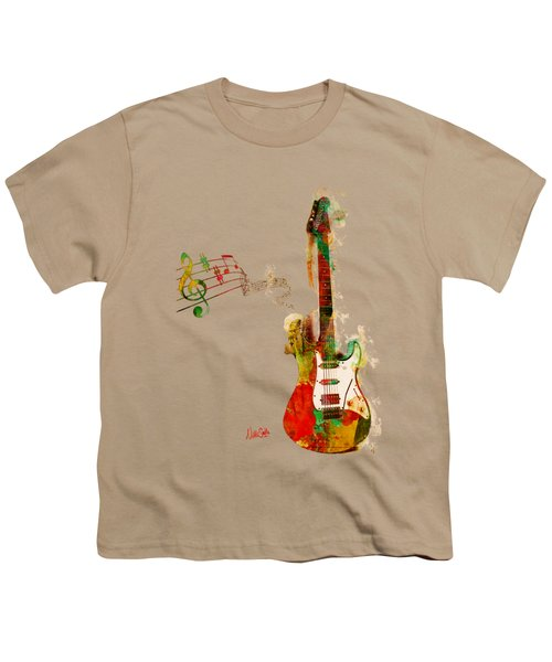 My Guitar Can Sing Youth T-Shirt by Nikki Smith