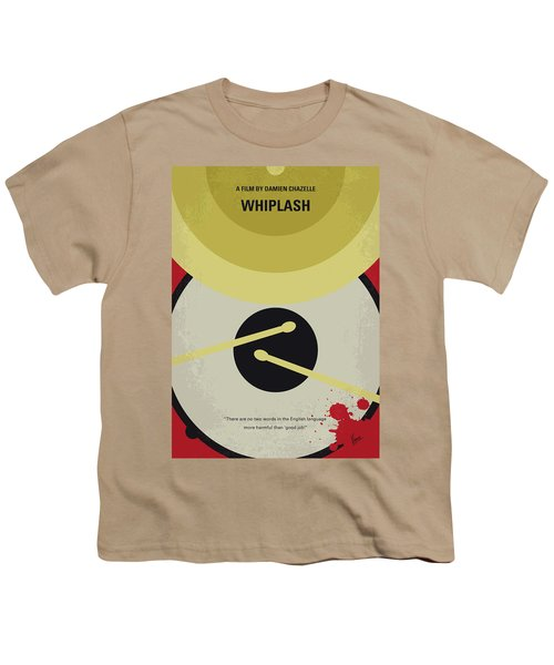 No761 My Whiplash Minimal Movie Poster Youth T-Shirt