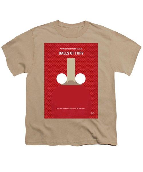 No822 My Balls Of Fury Minimal Movie Poster Youth T-Shirt