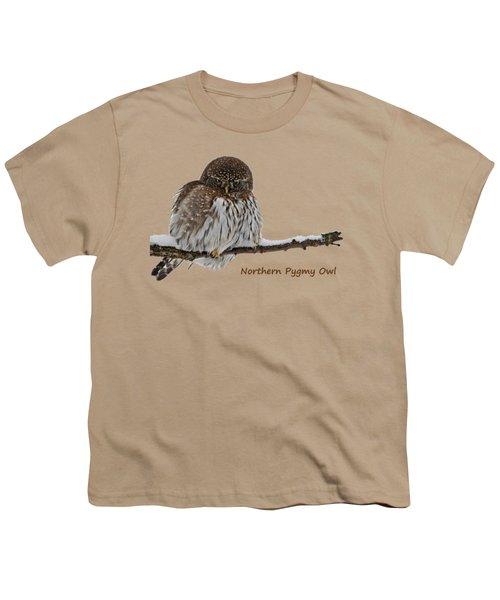Northern Pygmy Owl 2 Youth T-Shirt