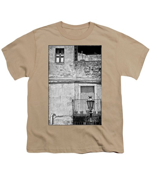 Old House In Taormina Sicily Youth T-Shirt
