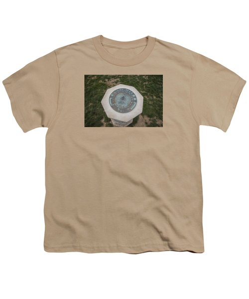 Old Main Statue  Youth T-Shirt by John McGraw
