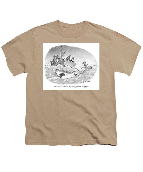 Once Koalas Taste Shark Youth T-Shirt