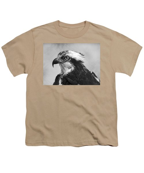 Osprey Monochrome Portrait Youth T-Shirt