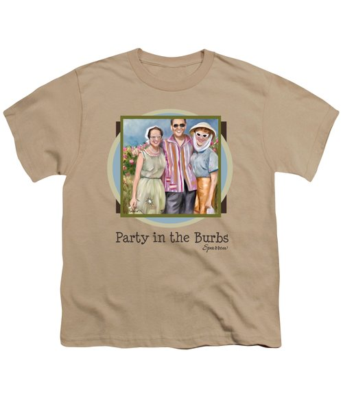 Party In The Burbs Youth T-Shirt
