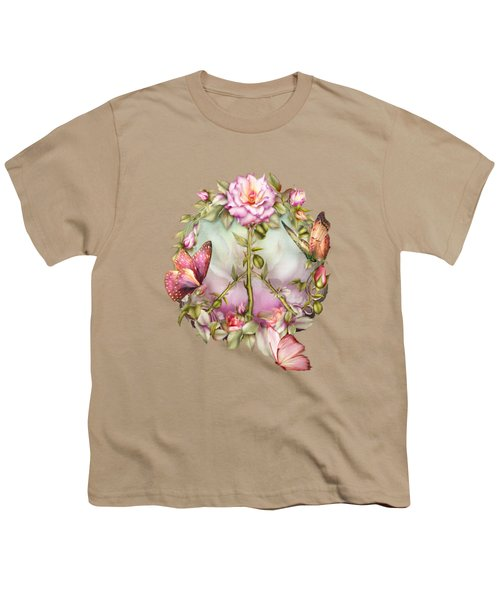Peace Rose Youth T-Shirt